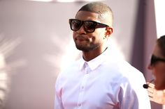 Usher at the 2014 VMAs in the Dita Creator #DITAeyewear #Usher