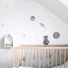 WALLSTICKER - STICKSTAY STARS SMALL (GOLD)