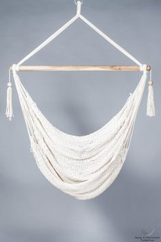 The original Caribbean Hammocks with Cloud-like Comfort! The Nicaraguan Hammock Chair is great just sitting in or just put your feet in and stretch out. The sof Hammock Swing, Hammock Chair, Diy Chair, Swinging Chair, Macrame Hanging Chair, Hanging Chairs, Acapulco Chair, Comfortable Accent Chairs, Upholstered Dining Chairs