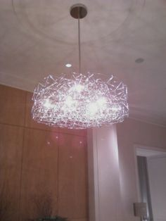 Same Chandelier, Just Further Away So You Can See How It Hangs