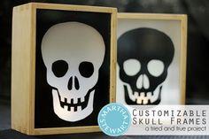 Customizable Skull Frames by Tried & True