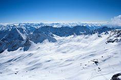 Fascination of the Zugspitze. http://b-schaffer.blogspot.de/2017/04/die-faszination-einer-deutsch.html #fascination #zugspitze #skiing #bavaria #germany #top #mountain