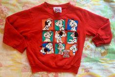 101 Dalmatians' Sweatshirt 2T/Toddlers 2 by lishyloo on Etsy