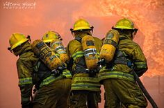 Photograph firefighters by Viktoria Haack on 500px