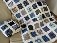 Custom Memory Quilt / T-shirt Quilt / Baby by Hearttoheartquilts