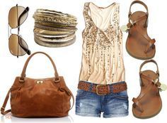 summer outfit, too cute