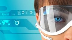 android-powered glasses that provide a heads-up display to the wearer and connect over wireless data services.