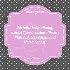 Das Herz voller Mutterliebe  Mehr schöne Sprüche auf: www.mutterherzen.de  #herz…