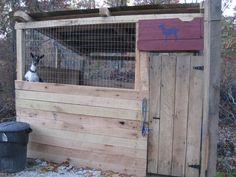 Goat Houses  predator proof