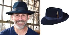 Makers Monday Today we are celebrating American Workers with the Bollman Hat Company Makers' Collection. These hats are named for employees with 35+ years of service to the company - Americas Oldest Hatmaker Pictured: Gene H. In his namesake fedora Gene has worked at Bollman for 40 years