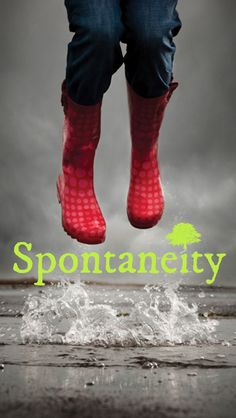 AWE's Word for Today: Spontaneity When was the last time you did something for the first time? Do something unplanned! Get AWE App at http://itunes.apple.com/app/id969960040