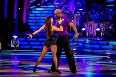 Patrick Robinson and Anya Garnis Perform In Week 4 Of Strictly Come Dancing 2013