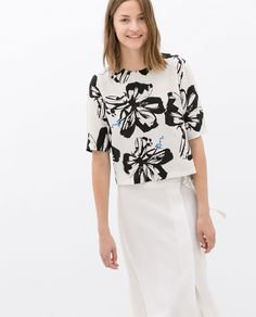 PRINTED TOP - Woman - NEW THIS WEEK | ZARA Ukraine