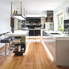 Contemporary Dream Kitchens award-winning kitchen - contemporary - kitchen - photos