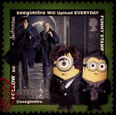 Sherlock Minions http://multicitytoys.com