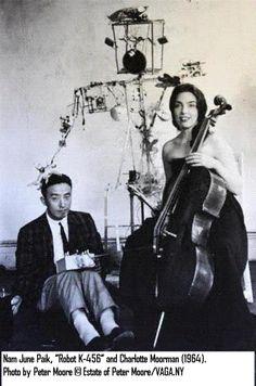 Nam June Paik, Charlotte Moorman