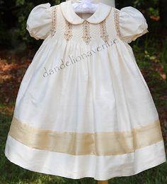 beautiful hem detail  Dandelion Avenue: hand embroidered dress