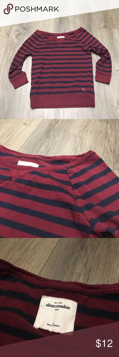 Abercrombie Top Abercrombie girls top. Size large. Great condition abercrombie kids Shirts & Tops
