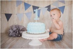 Wow, Jaxon… you grew up right before our eyes! Grew up into one BIG boy! Why are chunky babies so cute? You are so full of personality and your first birthday pictures prove it. Simple 1st Birthday Party Boy, Boys First Birthday Party Ideas, 1st Birthday Cake Smash, Baby Boy First Birthday, Boy Birthday Parties, Boy Cake Smash, Birthday Gifts, Boy Birthday Pictures, First Birthday Photos