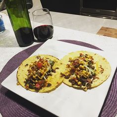 And the boy can cook!! #taconight #mayflylife #delish #youcanthangwithmycornsalsa