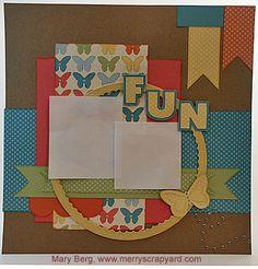 Fun Layout - Dotty For You | Merry Scrapyard