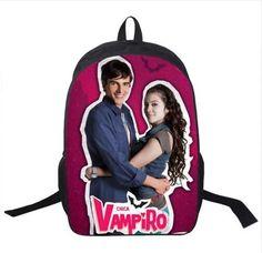 Tv Show Chica Vampiro / Twilight Backpack For Teenagers Girls Boys School Bags Men Women Daily Bag Vampire School Backpacks