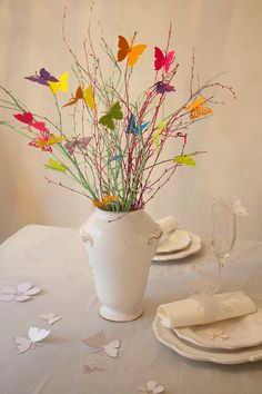 Butterflies bouquet  spring s set of 20 by Koelnschaetze on Etsy, €15.90