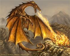 Awesome Dragons | 30 Awesome Red Dragon artworks | #1 Design Utopia Trend
