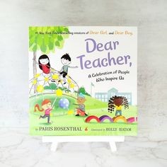 From the #1 New York Times bestselling team behind Dear Girl, and Dear Boy, comes a heartfelt thank-you letter written to educators, coaches, leaders, role models, mentors, and heroes everywhere! A perfect gift for back to school, National Teachers' Day, Teacher Appreciation Week, and the last day of school. 📸 @future_bookworms Last Day Of School, Back To School, National Book Store, Reluctant Readers, Thank You Letter, Gifts For Readers, Teacher Appreciation Week, Teachers' Day, Picture Books