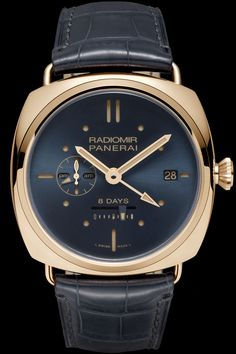 Panerai RADIOMIR 8 DAYS GMT ORO ROSSO @DestinationMars