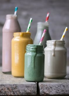 smoothies - vegan rainbow smoothies - smoothies arcobaleno - smoothies vegani - guest post - My berry forest - OPSD blog