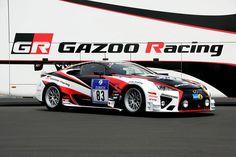 Lexus LFA compitiendo en la 40 ª edición de las 24 Horas de Nürburgring.