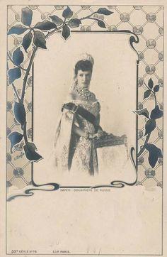 Zarin Marie von RUssland, geb. Prinzessin Dagmar von Dänemark | by Miss Mertens