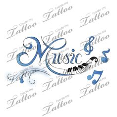 Marketplace Tattoo Music lovers tattoo #101 | CreateMyTattoo.com
