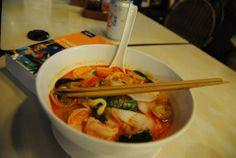 Tailandia - Tom Yan, sopa de noodles preferida