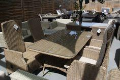 #dining #furniture #rattan #wicker #table #garden #patio #design #luxury
