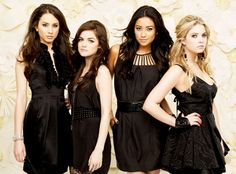 Pretty Little Liars... books and tv show.. watch with Madeline each week