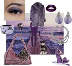 Purple... no discussion, created by platino909 on Polyvore