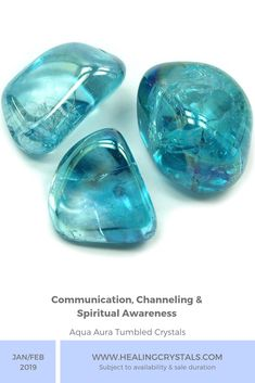 Let's take a look at this Mix Bag Sale happening THIS weekend, which has some Tumbled Aqua Aura. Aqua Aura enhances Communication and Channeling but can also increase Spiritual Awareness. Crystals Minerals, Blue Crystals, Crystals And Gemstones, Stones And Crystals, Blue Aura, Aqua Aura Quartz, Clear Quartz, Bleu Turquoise, Shades Of Turquoise