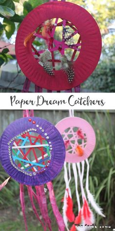 Paper Dream Catchers