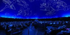 Indoor Location: This planetarium looks awesome and helps me think about the wonders of the cosmos.