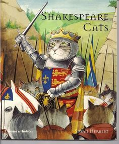 Yes, cats are indeed a part of #PopCulture! #Shakespeare #Cats #Book #Kids