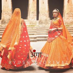 Bridal Lengha by Ayush Kejriwal For purchases email me at designerayushkejr or whats app me on 00447840384707 We ship WORLDWIDE. Wedding Lehnga, Indian Bridal Lehenga, Indian Bridal Wear, Red Wedding Dresses, Indian Wear, Indian Dresses, Indian Outfits, Marriage Dress, Ethnic Dress