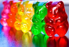 COLORFUL, BEARS, CANDY