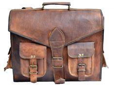 Messenger Bags For School, Laptop Messenger Bags, Laptop Briefcase, Business Briefcase, Laptop Bags, Mens Leather Satchel, Leather Laptop Bag, Leather Briefcase, Leather Bags