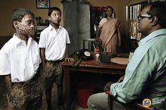 Tide Detergent Powder: School     Whites like nothing happened.  Advertising Agency: Leo Burnett, Mumbai, India