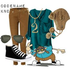 Numbuh 2 - codename: kids next door cartoon outfits 90s Fashion, Fashion Outfits, Cartoon Fashion, Disney Fashion, Date Outfits, Cool Outfits, Disney Bound Outfits, Princess Outfits, Cartoon Outfits