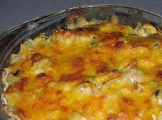 Weight Watchers Tuna Casserole only 6points on the old point plan!! This is dinner!!