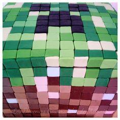 Gâteau cube : jeu vidéo Minecraft