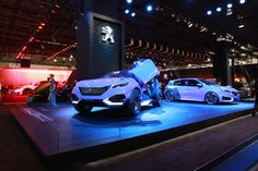 Discover the #conceptcar #PeugeotQuartz at the #IAA15 ! #motorshow #exhibition